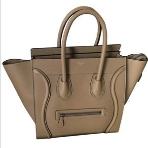 celine luggage mini tote consignment