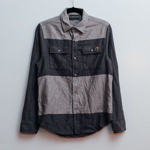 The Hundreds Other - MENS THE HUNDREDS PANEL BUTTON-UP