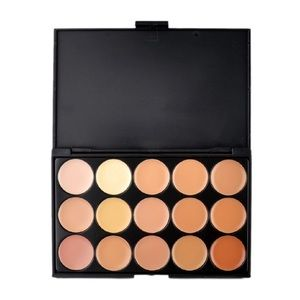 Other - 15 Colours Concealer Cream Foundation Palette