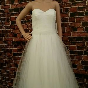 THEIA Couture Dresses & Skirts - THEIA Couture Tulle Strapless Wedding/Prom Dress