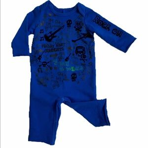 Amy Coe Other - AMY COE long sleeve baby boy romper