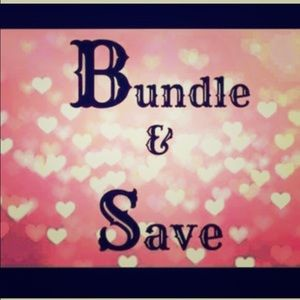 15% off when you bundle 2 or more items!