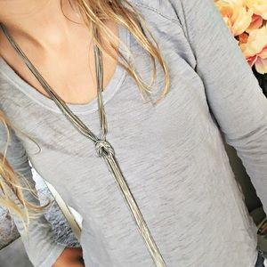 New York & Company Jewelry - NWT NY&Co Knot Necklace