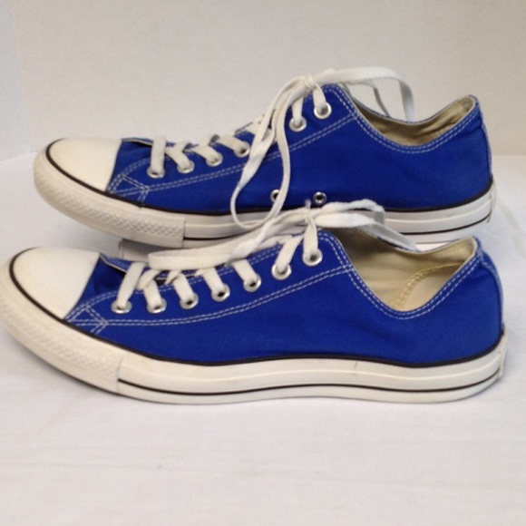 fb16f64c5f18a5 Converse Shoes - Blue Converse All Star Shoes Size Men 11 Women 13