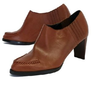 3.1 Phillip Lim- Brown Leather Booties Sz 10