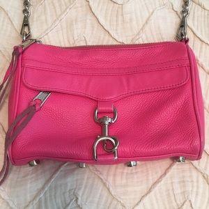 Rebecca Minkoff Handbags - Rebecca Minkoff Pink Mini MAC Crossbody