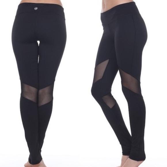 dbd70b3c178ea LA sports Pants | Black Fishnet Workout Leggings | Poshmark