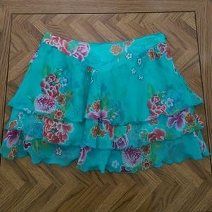 Joie silk skirt