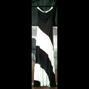 Bebe Strapless Dress XS