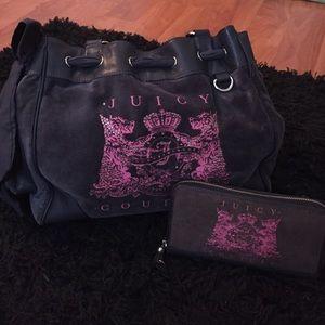 Juicy Couture Bag and Wallet Bundle