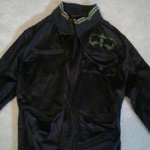 stimuli Jackets & Blazers - black bomber chic cargo jacket