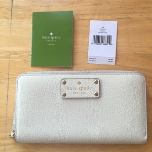 Kate Spade Wellesley Wallet (Porcelain)