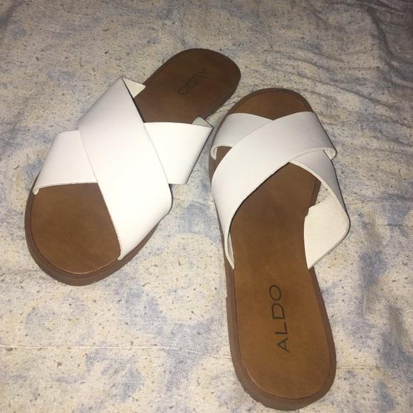 9f14fa580ed Aldo Shoes - ALDO crisscross sandals
