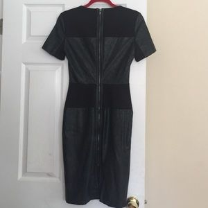 Walter Baker Dresses & Skirts - Black leather dress by Walter baker