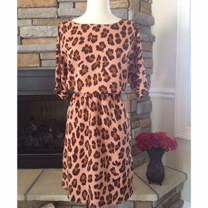 W118 by Walter Baker Dresses & Skirts - Walter Baker Leopard Print Dress