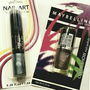 Maybelline Other - New! Maybelline & Revlon Nail Duo