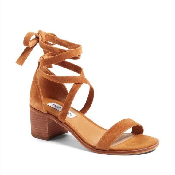 c67183811f5 Steve Madden Rizzaa Ankle Strap Sandal. M 57926dfa2ba50a5edb02166b