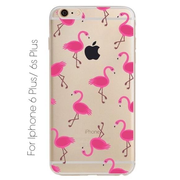 sports shoes 2e00c 90ed5 Iphone 6Plus/ 6sPlus Lovely Flamingo Phone Case