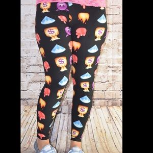 Buskins Pants - Emoji leggings