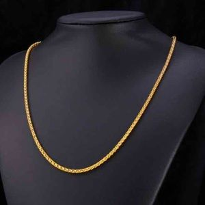 New 18k gold chain for men /women