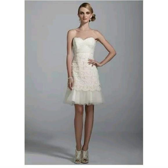 30 Off Dbstudio Dresses Skirts Destination Or Short Wedding Gown Fro