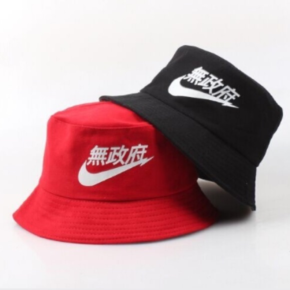 RARE Nike Air Hat RED Black Japanese Chinese 837d51e5a5e