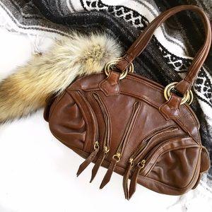 Anthropolgie leather treesje bag