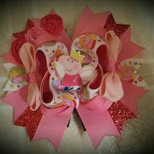 Accessories - Peppe Pig Hair Bow
