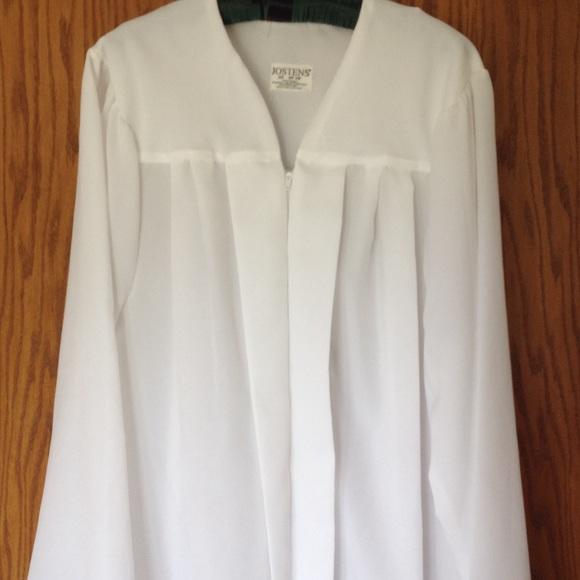 Josten Other | White S Graduation Gown | Poshmark