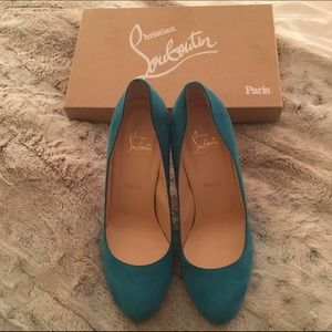 cl shoes - replica - 70% off Christian Louboutin Shoes - ??Sale????RARE??CL's 120 Eel ...