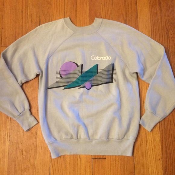 Relatively Vintage Tops   Colorado Crew Neck Sweatshirt   Poshmark QN38