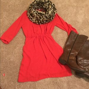 Red Collective Concepts Dress from Dillard's