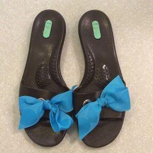 0afbbdd91ae5 Oka B Sandals Slide On Shoes Size ML