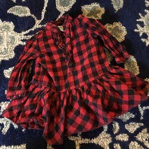 Ralph Lauren Other - Ralph Lauren Red Plaid Dress 9 M