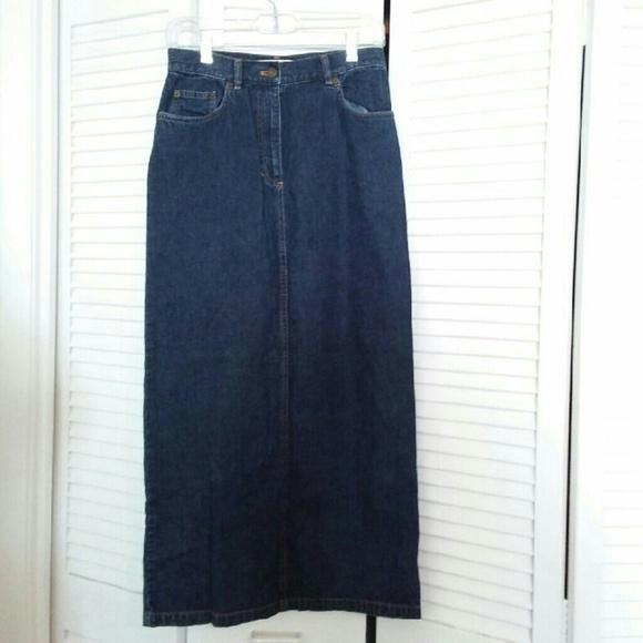 Jones New York - Jones New York Jeans Long Denim Skirt Size 4 from ...