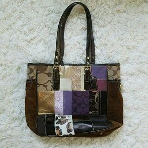 Coach Handbags - Coach medium patchwork purse