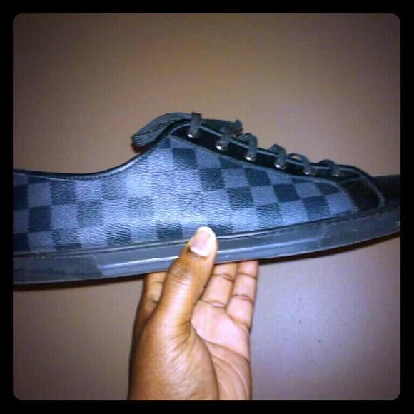 Louis Vuitton Damier Mens Shoes