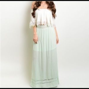 Dresses & Skirts - Light Sage Maxi Skirt