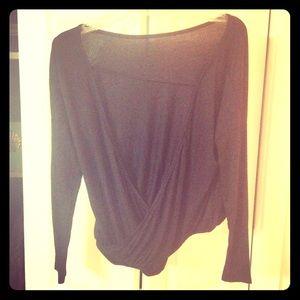 Very pretty black backless top XS