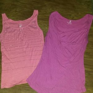 Tops - NY&CO. Size small. Left Pink tank