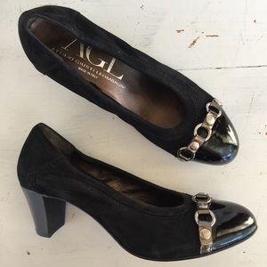 Attilio Giusti Leombruni Shoes - Attilio Giusti Leombruni leather belt pumps