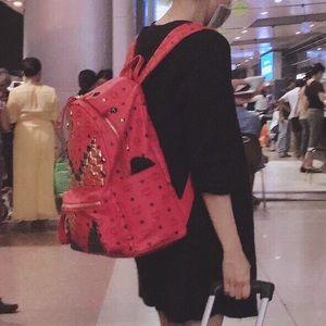 MCM Handbags - MCM stark M stud backpack