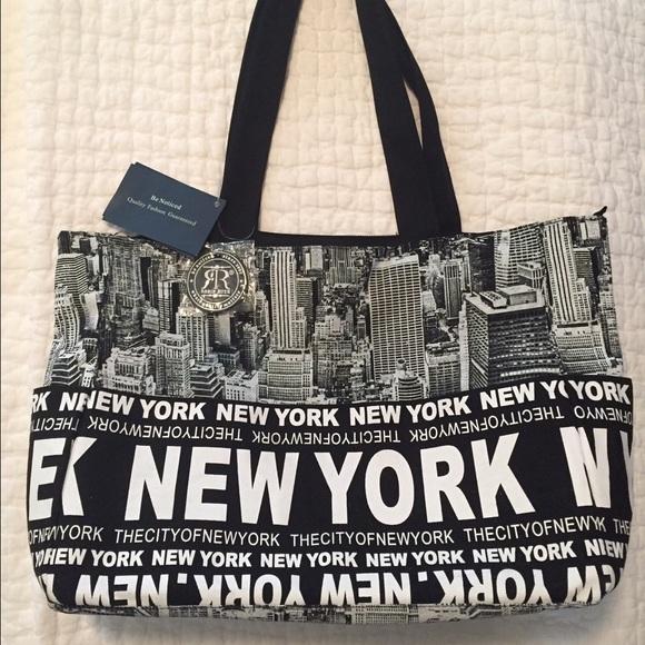 f7c82bbfe59f Robin Rush New York City Tote Bag NWT