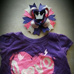 Accessories - Shirt w/matching bow
