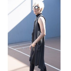 Rue21 Sweaters - ⭐️Grey Sleeveless Tunic Cardigan Vest Layering NEW