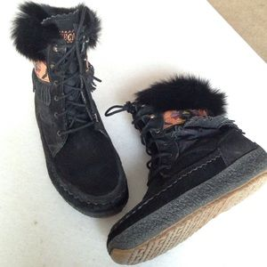 Tecnica Shoes - Tecnica REAL Fur and Leather Tribal Boots 👢