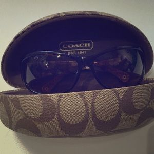 Tortoise Coach Sunglasses