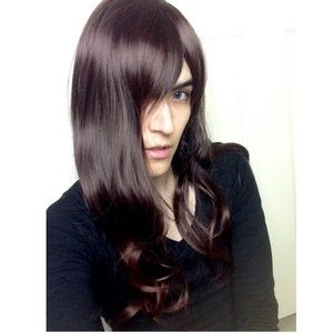 🆕High Quality Long Brown Hair Wig Silky Smooth💖