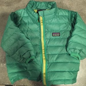 Patagonia down feather jacket- 12 month size