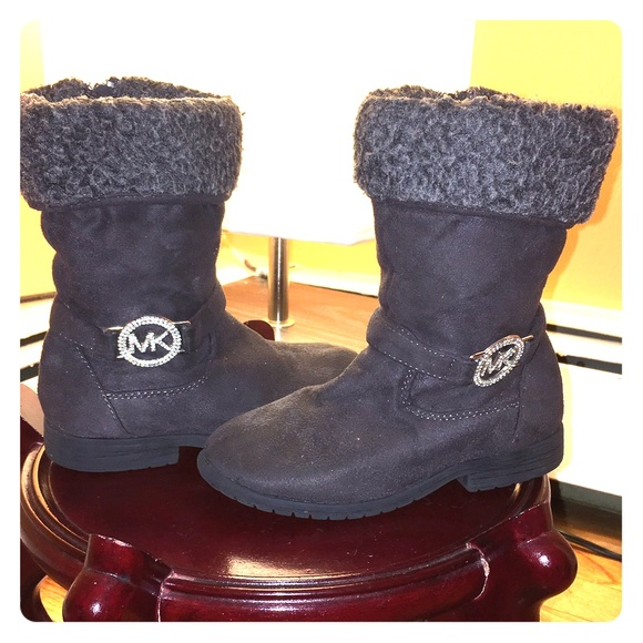 75% off Michael Kors Shoes - Michael Kors girls' boots size 12 ...
